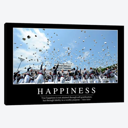 Happiness Canvas Print #TRK1108} by Stocktrek Images Canvas Art Print