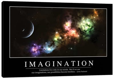 Imagination Canvas Art Print