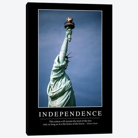Independence I Canvas Print #TRK1113} by Stocktrek Images Canvas Wall Art