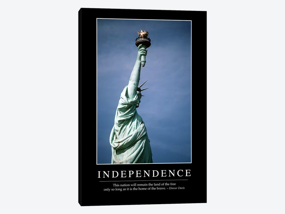 Independence I by Stocktrek Images 1-piece Canvas Artwork