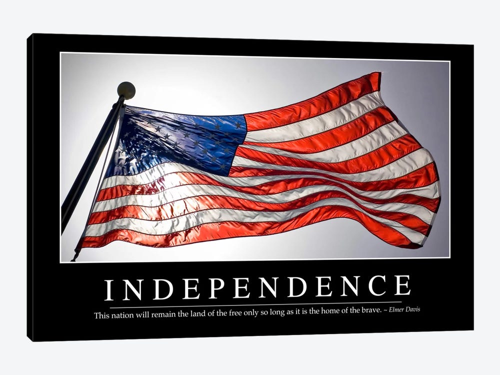 Independence II by Stocktrek Images 1-piece Canvas Art Print