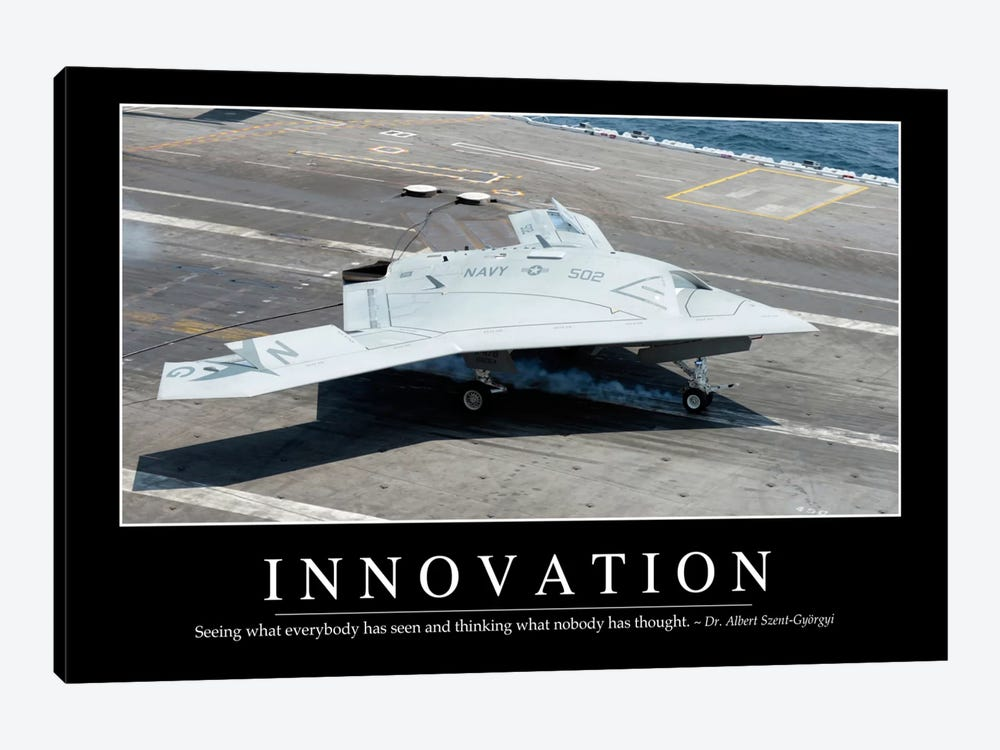 Innovation by Stocktrek Images 1-piece Canvas Wall Art