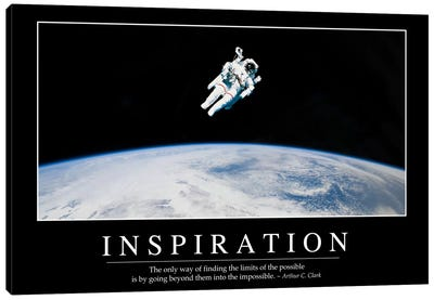 Inspiration Canvas Art Print