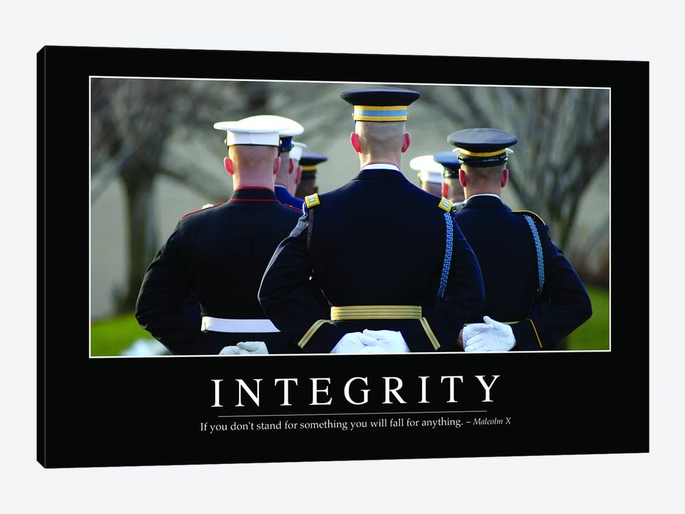 Integrity by Stocktrek Images 1-piece Canvas Wall Art