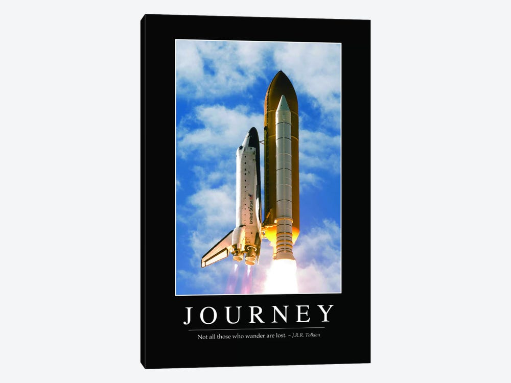Journey I by Stocktrek Images 1-piece Canvas Art Print