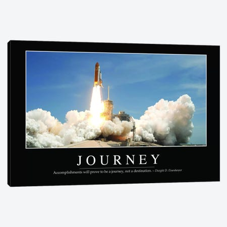 Journey II Canvas Print #TRK1119} by Stocktrek Images Canvas Artwork