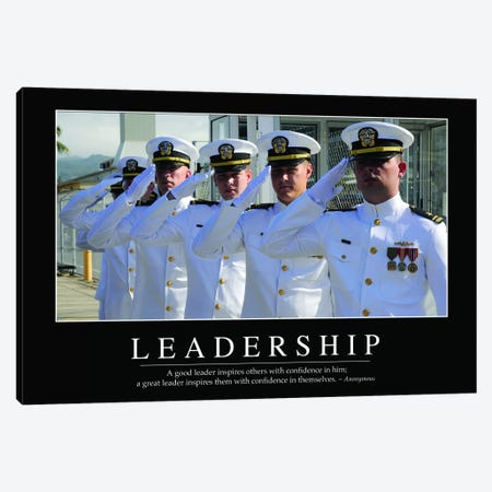Leadership Canvas Print #TRK1120} by Stocktrek Images Canvas Print