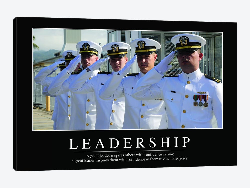 Leadership 1-piece Canvas Art