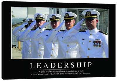 Leadership Canvas Art Print