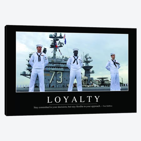Loyalty Canvas Print #TRK1121} by Stocktrek Images Art Print