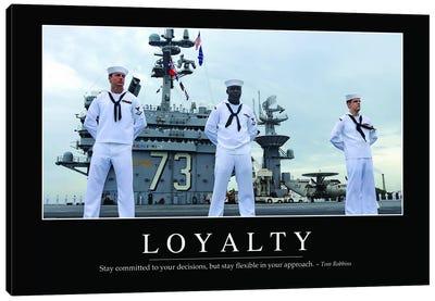 Loyalty Canvas Art Print