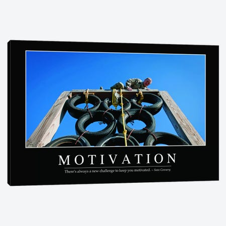 Motivation Canvas Print #TRK1123} by Stocktrek Images Art Print
