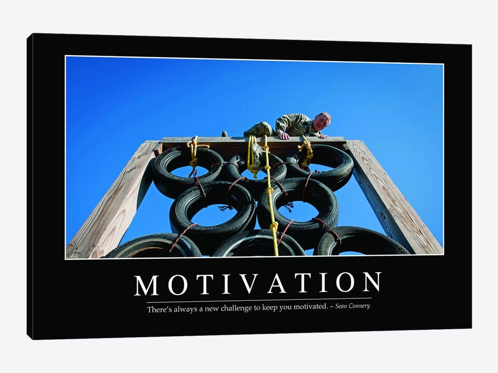 Motivation by Stocktrek Images 1-piece Canvas Print