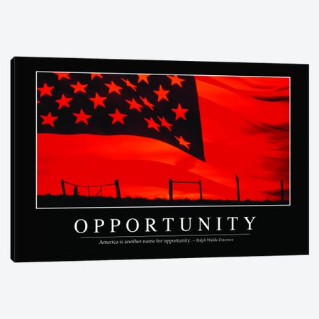 Opportunity Canvas Print #TRK1126} by Stocktrek Images Canvas Art