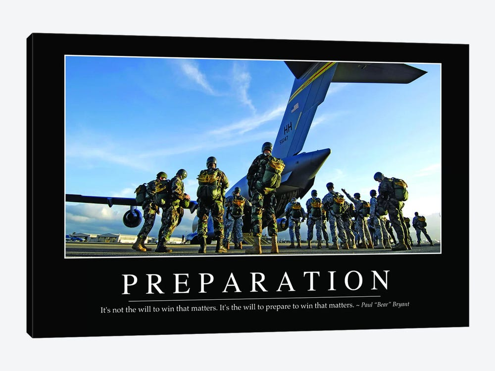 Preparation by Stocktrek Images 1-piece Art Print