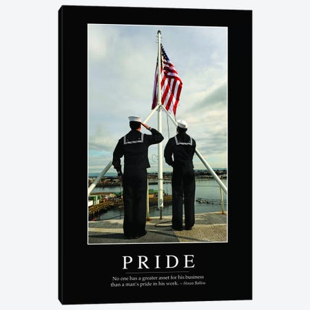 Pride Canvas Print #TRK1135} by Stocktrek Images Canvas Print