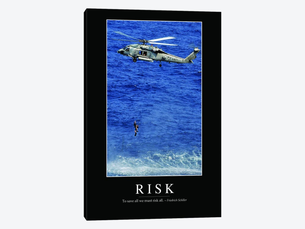 Risk by Stocktrek Images 1-piece Canvas Wall Art