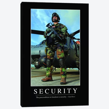 Security I Canvas Print #TRK1140} by Stocktrek Images Canvas Art Print