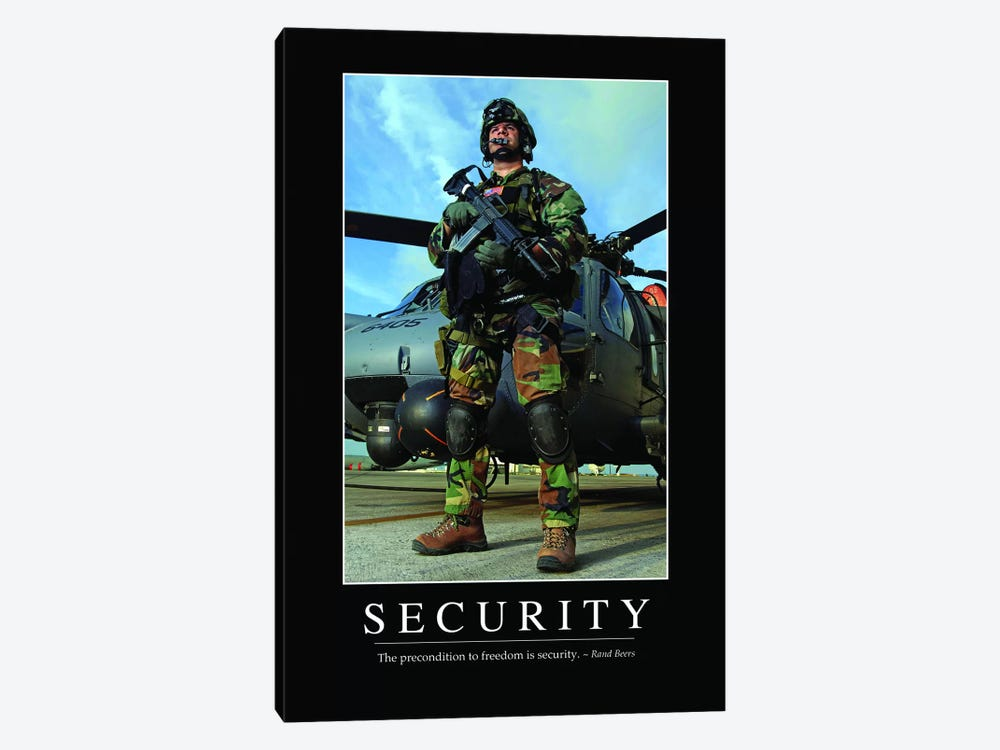 Security I by Stocktrek Images 1-piece Canvas Wall Art