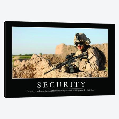 Security II Canvas Print #TRK1141} by Stocktrek Images Canvas Art Print