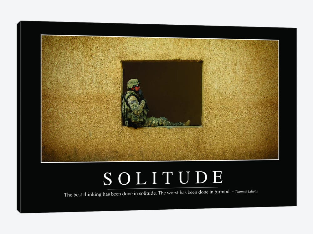 Solitude by Stocktrek Images 1-piece Canvas Print