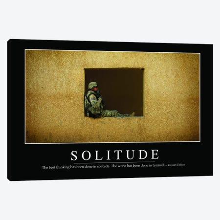 Solitude Canvas Print #TRK1143} by Stocktrek Images Art Print