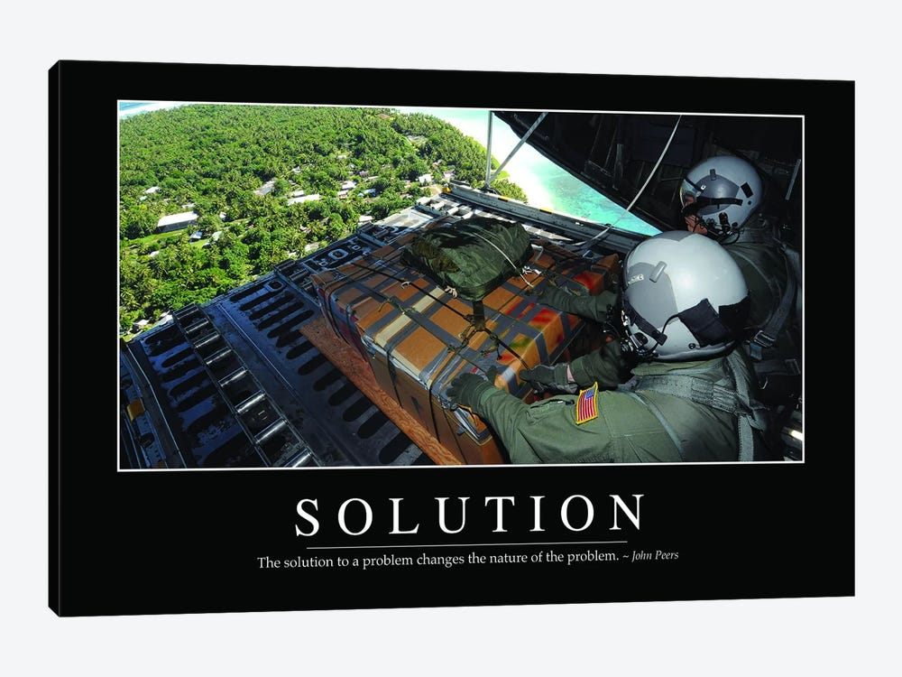Solution I by Stocktrek Images 1-piece Canvas Art