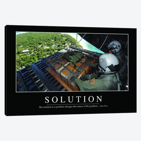 Solution I Canvas Print #TRK1144} by Stocktrek Images Canvas Art