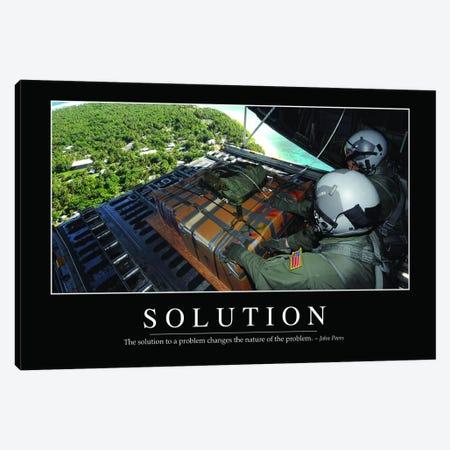 Solution I Canvas Print #TRK1144} by Stocktrek Images Canvas Art