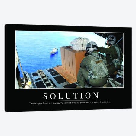 Solution II Canvas Print #TRK1145} by Stocktrek Images Canvas Art