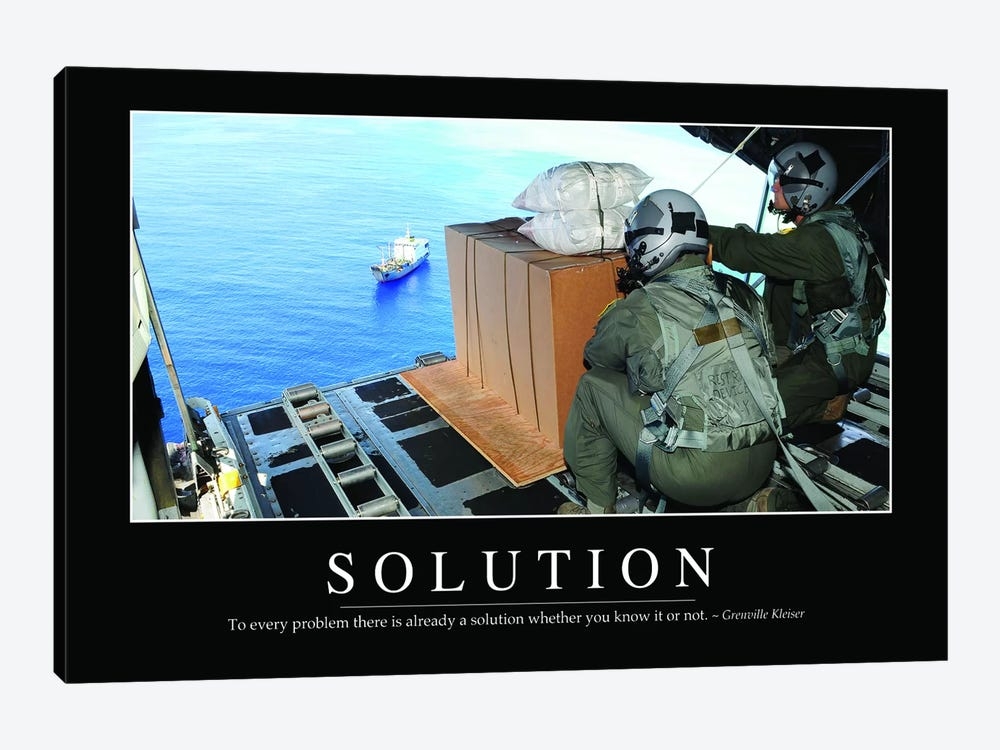 Solution II by Stocktrek Images 1-piece Canvas Art Print