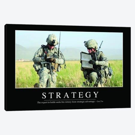 Strategy Canvas Print #TRK1148} by Stocktrek Images Art Print