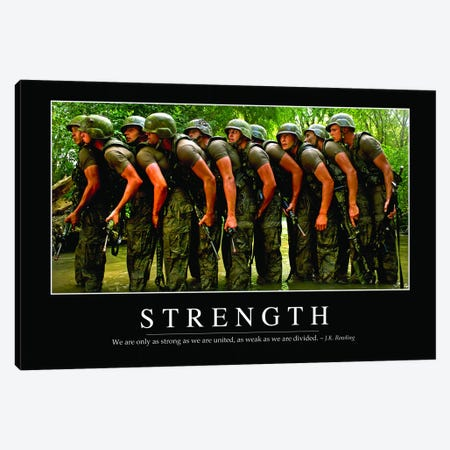 Strength Canvas Print #TRK1149} by Stocktrek Images Canvas Print