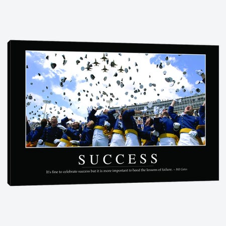 Success Canvas Print #TRK1150} by Stocktrek Images Canvas Art