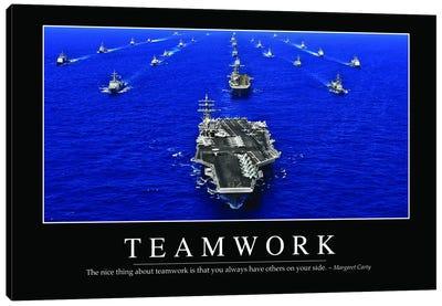 Teamwork Canvas Art Print