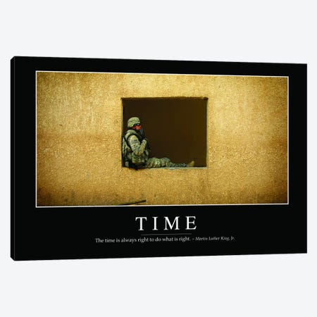 Time Canvas Print #TRK1154} by Stocktrek Images Canvas Print