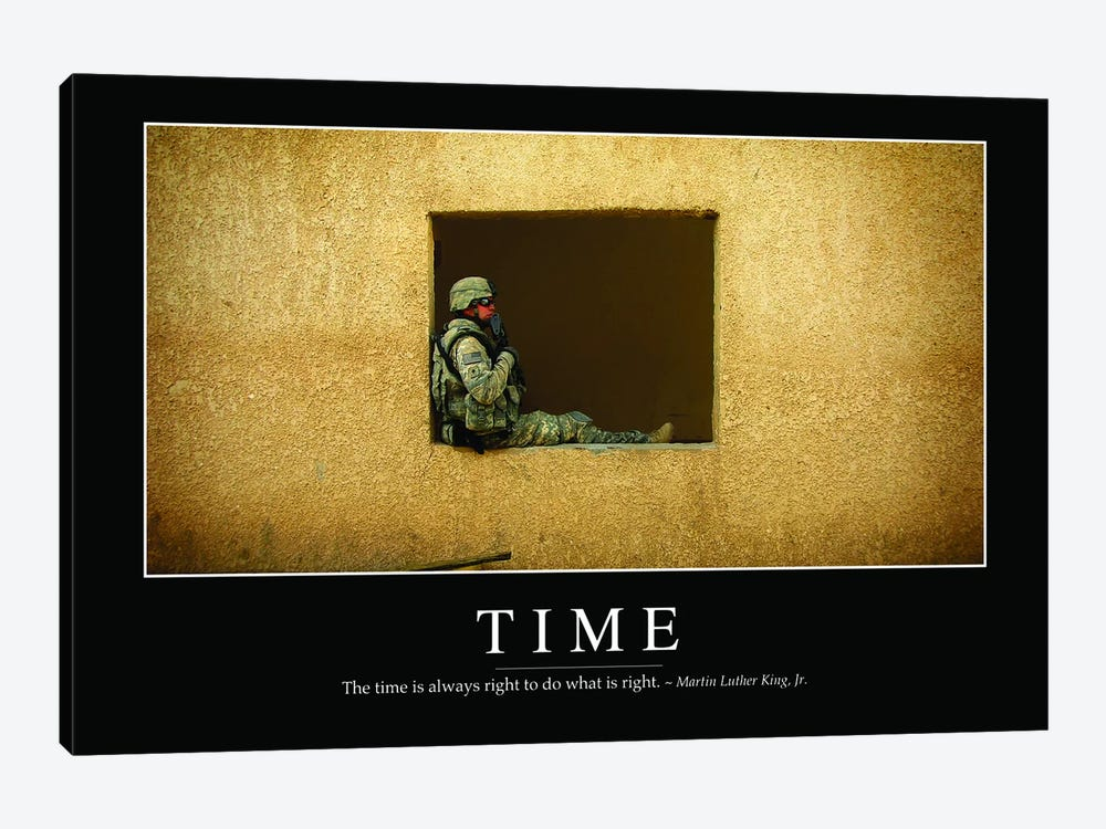 Time by Stocktrek Images 1-piece Canvas Art Print