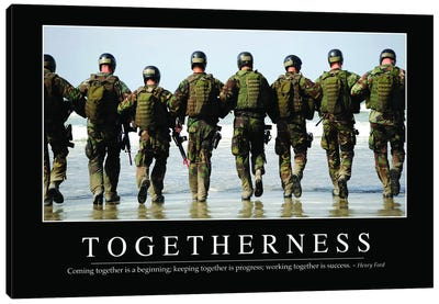 Togetherness Canvas Art Print