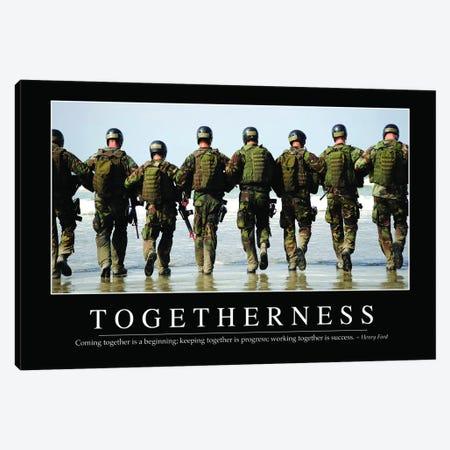 Togetherness Canvas Print #TRK1155} by Stocktrek Images Art Print