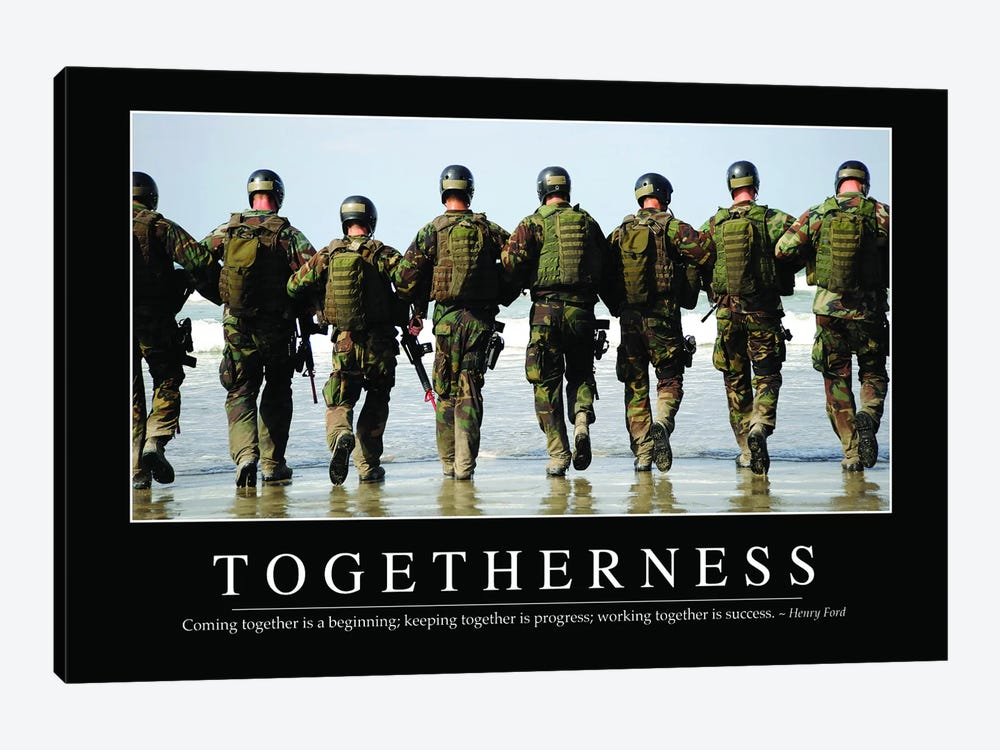 Togetherness by Stocktrek Images 1-piece Canvas Art