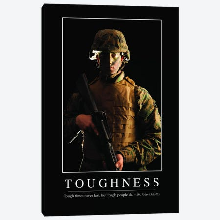 Toughness Canvas Print #TRK1156} by Stocktrek Images Canvas Print