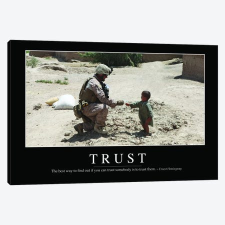 Trust Canvas Print #TRK1159} by Stocktrek Images Canvas Art