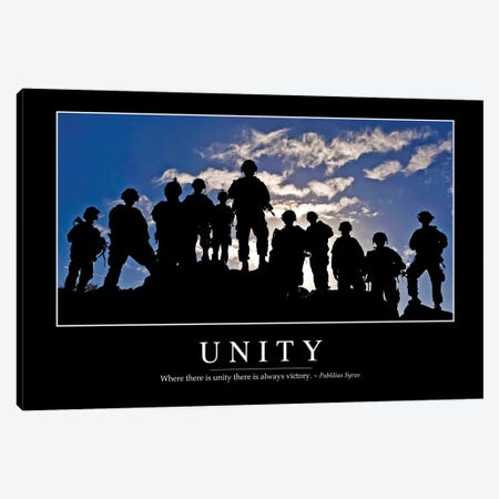Unity Canvas Print #TRK1161} by Stocktrek Images Art Print