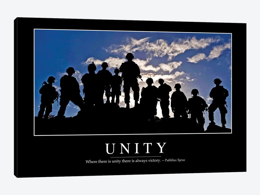 Unity by Stocktrek Images 1-piece Canvas Print