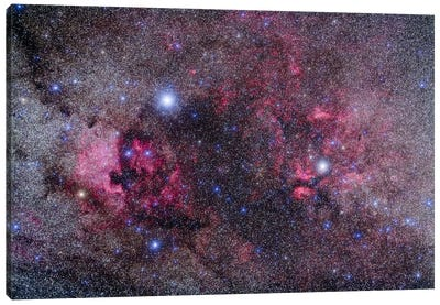 Nebulosity In Cygnus Canvas Art Print