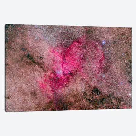 NGC 6193 Nebulosity In Ara With Several Open Clusters Canvas Print #TRK1170} by Alan Dyer Canvas Wall Art