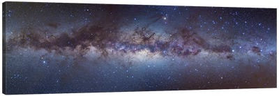 Panorama View Of The Center Of The Milky Way Canvas Art Print
