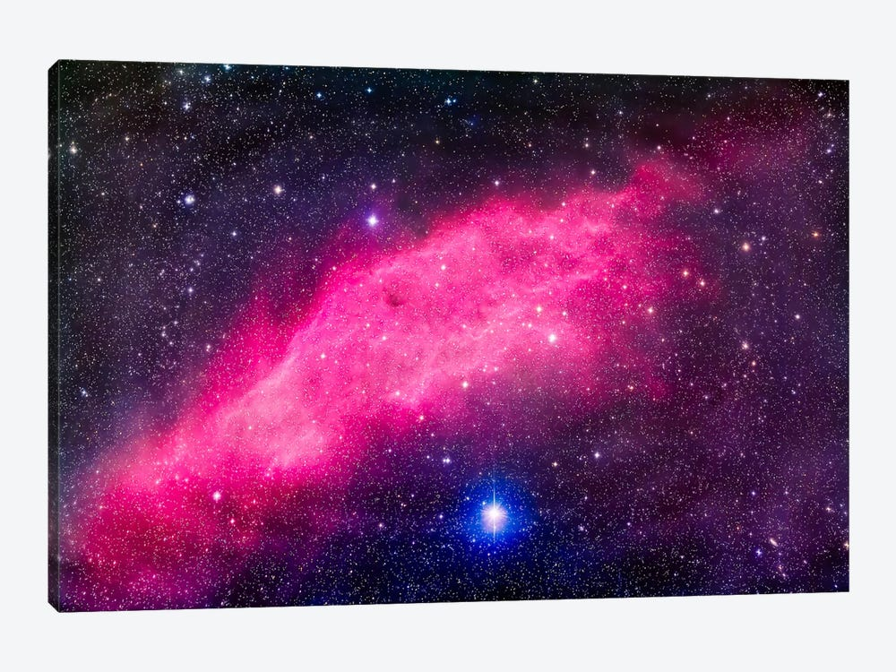 The California Nebula by Alan Dyer 1-piece Canvas Wall Art