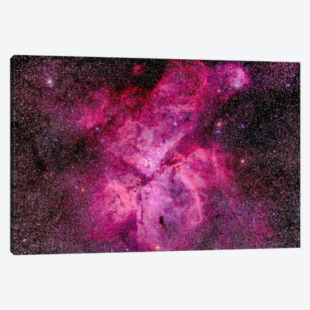 The Carina Nebula In The Southern Sky Canvas Print #TRK1174} by Alan Dyer Canvas Art Print
