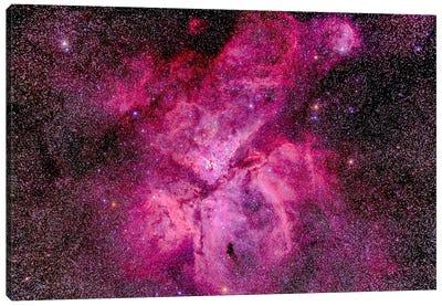 The Carina Nebula In The Southern Sky Canvas Art Print